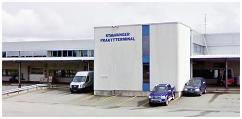 Stavanger Lufthavn Sola--Hentes på Jetpak/Spirit Air Cargo Handling/Stavanger fraktterminal
