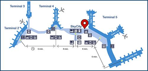 Stockholm Lufthavn Arlanda--Hentes på Effektforvaringen/Lost and Found
